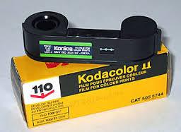 110 film cassette negative